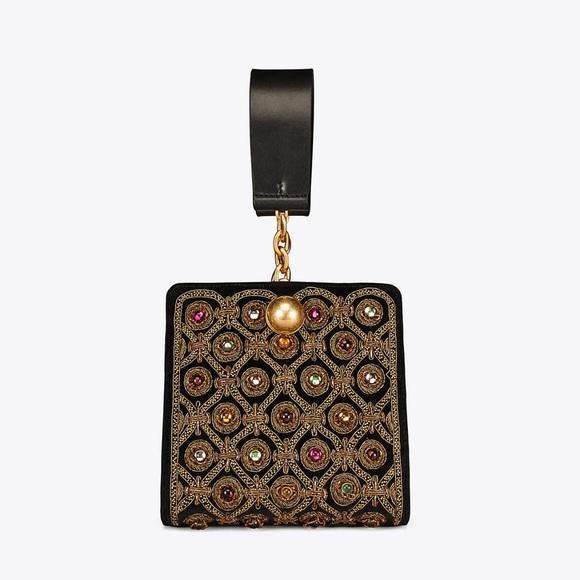 9c76b0a8f084 Tory Burch Darcy Embellished Clutch